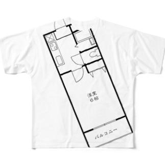 ikiのお店のnejiT⑤ Full graphic T-shirts