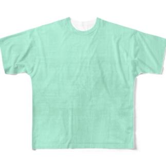エメラルド Full graphic T-shirts