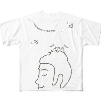 Listen(復刻版) Full graphic T-shirts