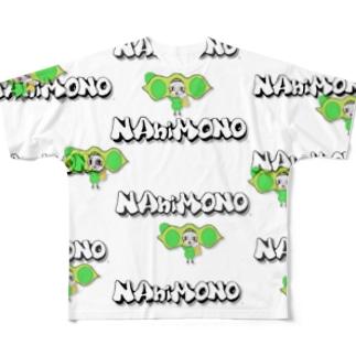 NANIMONO.枝豆ちゃん Full graphic T-shirts