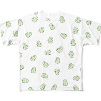 増殖も~さん Full graphic T-shirts