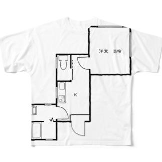 nejiT⑦ Full graphic T-shirts