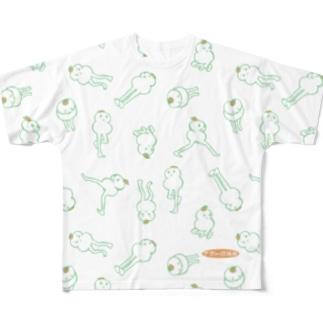 説法もちユニバース Full graphic T-shirts