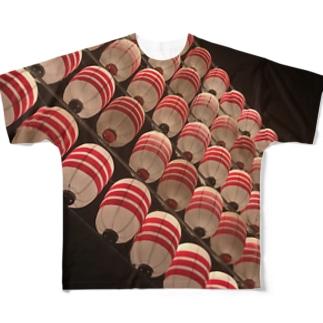 夜祭 Full graphic T-shirts