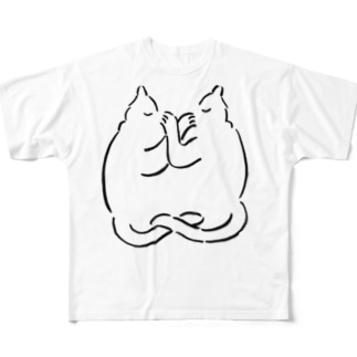 luv cats All-Over Print T-Shirt