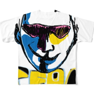 【HAD CASSY】 Full graphic T-shirts
