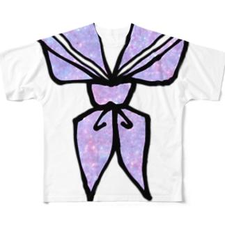 なんちゃってセーラー Full graphic T-shirts