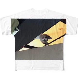 ちらっと Full graphic T-shirts