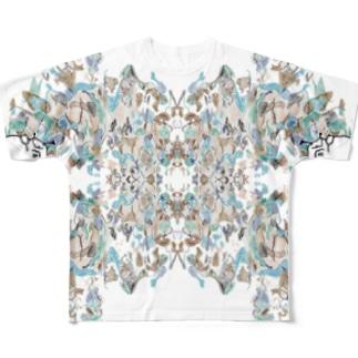 新居 Full graphic T-shirts
