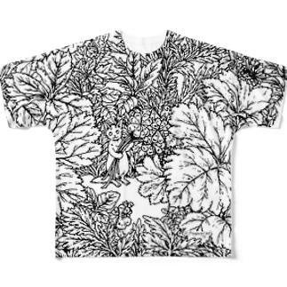 PygmyCatTシャツ02 Full graphic T-shirts
