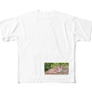 猫 Full graphic T-shirts