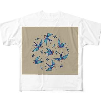 幸せな王子 Full graphic T-shirts