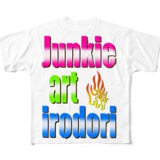 彩irodori2020 Full graphic T-shirts
