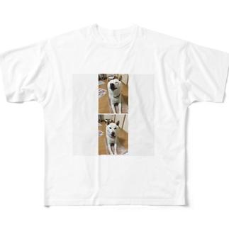 しば犬ラッキーくん Full graphic T-shirts