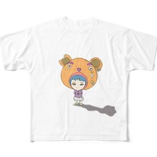 スイミースイミー 002-A Full graphic T-shirts