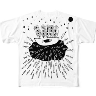 光が呼んでいる Full graphic T-shirts
