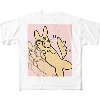 いんぬ Full graphic T-shirts