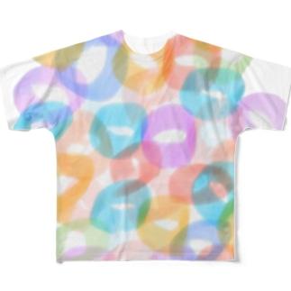 SHUWASHUWA Full graphic T-shirts