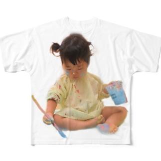 アーティストめい Full graphic T-shirts