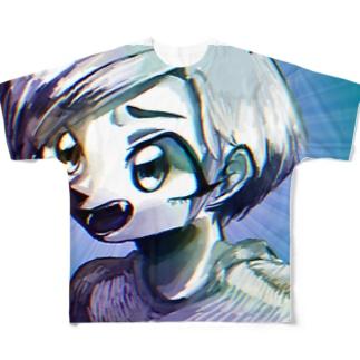 え=? Full graphic T-shirts