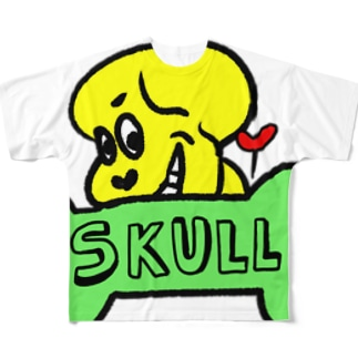 SKULL Full graphic T-shirts