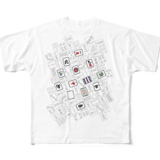 国士無双十三面 Full Graphic T-Shirt