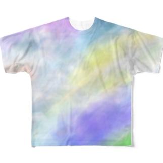 雲T Full graphic T-shirts