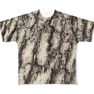 木肌T(A) Full graphic T-shirts