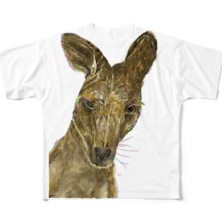 カンガルー Full graphic T-shirts