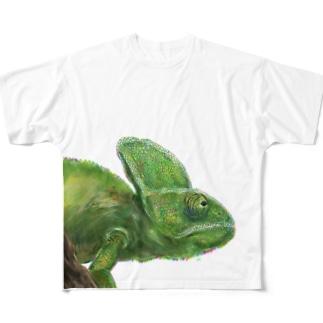 カメレオン2 Full graphic T-shirts