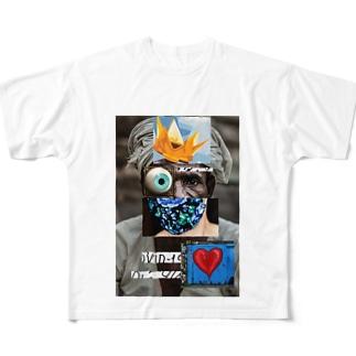 covid-19 Full graphic T-shirts