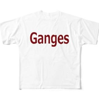 ガンジス  Full graphic T-shirts