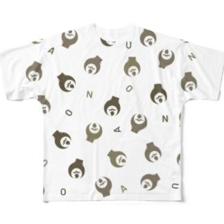 ランダムアノウサン Full graphic T-shirts