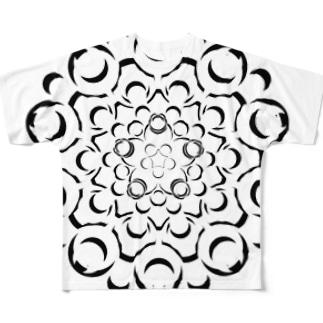 点絵HF-8 Full graphic T-shirts