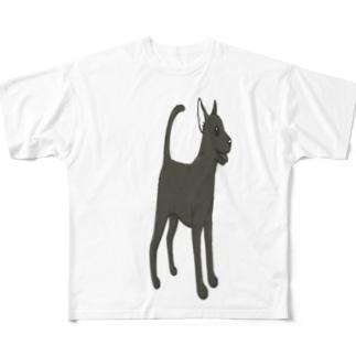 台湾犬 Full graphic T-shirts
