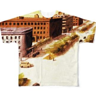 満州 Full graphic T-shirts
