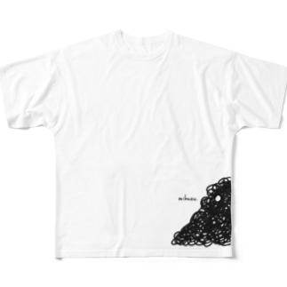 mikuzuちゃん Full graphic T-shirts