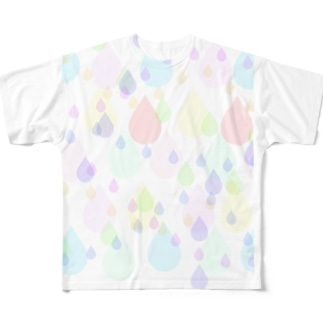 SHIZUKU Full graphic T-shirts