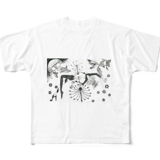 救済 Full graphic T-shirts