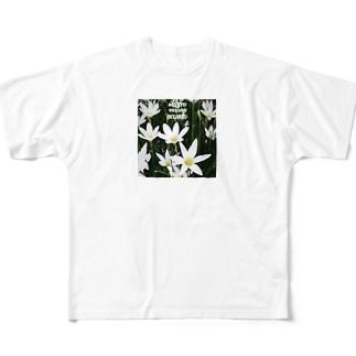 さりげないアピールT Full graphic T-shirts