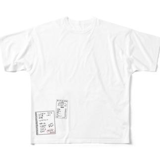 Kaidashi Full graphic T-shirts