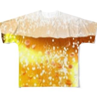 ビール🍻 Full graphic T-shirts