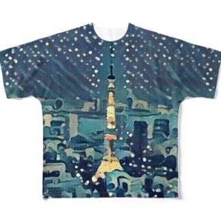 TOKYO   STOCK  Full graphic T-shirts