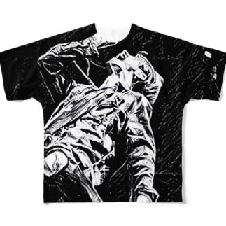 ロッカァアアアア!!!! Full graphic T-shirts