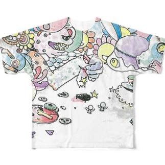 ピアニスト Full graphic T-shirts