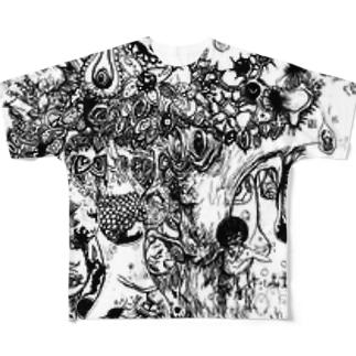 頭痛の樹 Full graphic T-shirts