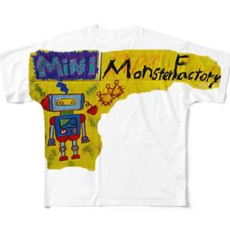 モンスター工場🏭 ミニ Full graphic T-shirts