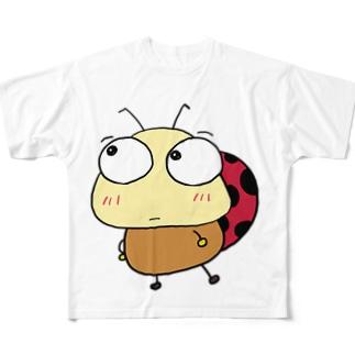 てんとうむし Full graphic T-shirts