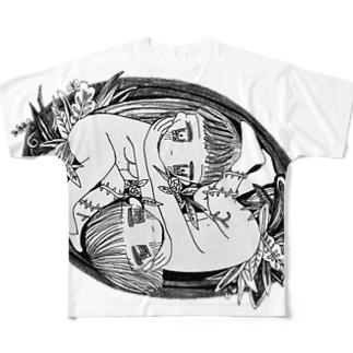☯︎ Tao ☯︎ Full graphic T-shirts