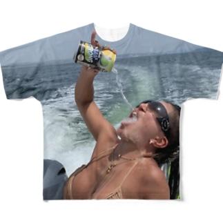 スト缶 フルグラ両面ver Full graphic T-shirts